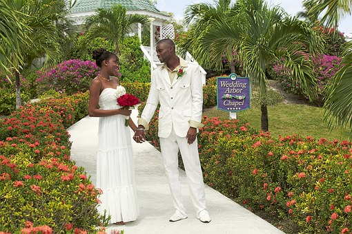 Antigua, Antigua And Barbuda, Wedding, Lovers