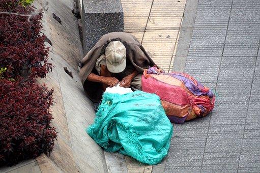Person, Adult, Indigent, Street Dweller, Almoner