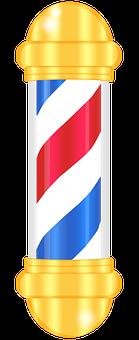 Barber, Pole, Barber's Pole, Barbershop, Sign, Symbol