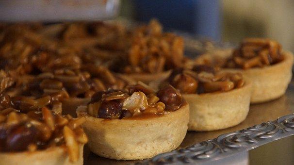 Tartlets, Nuts, Caramelized, Caramelized Nuts