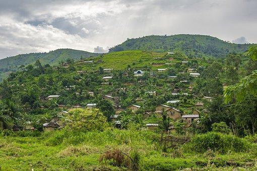 Maibano, Africa, Village, South, Kivu, Drc, Zaire