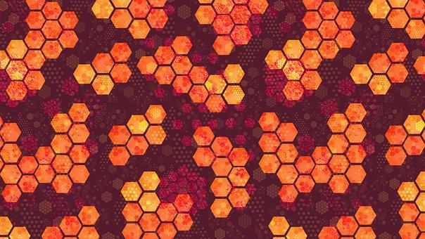Hexagon, Honeycomb, Beehive, Holiday, Festive, Season