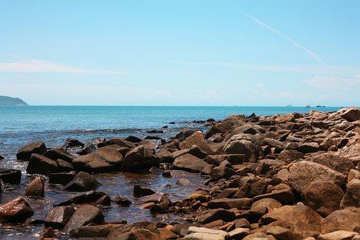 Sea, Rocky, Coast, Rocky Coast, Rocky Shore, Coastline