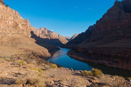 Grand Canyon, Arizona, Mesa, Badlands, Rock Formations