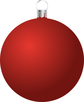 Bauble, Ornament, Christmas, Red, Christmas Ball