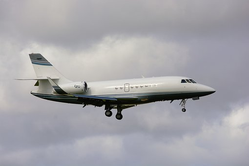 Corporate Jet, Flying, Jet, Business, Commercial