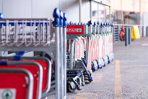 O R Tambo Airport, Airport Trolleys, Trolley
