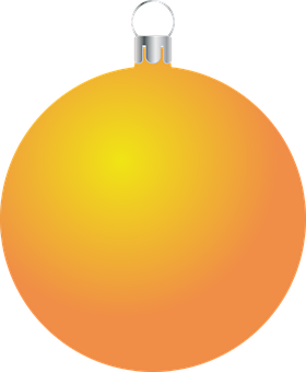 Bauble, Ornament, Christmas, Orange, Christmas Ball