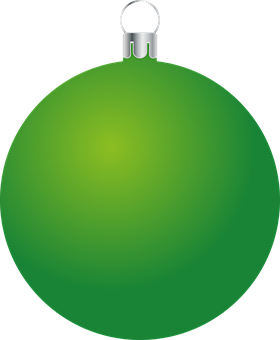 Bauble, Ornament, Christmas, Green, Christmas Ball
