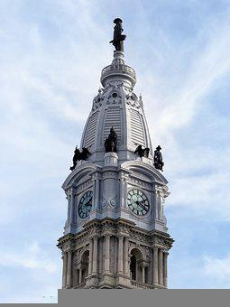 Philadelphia, City Hall, William Penn, Architecture