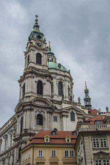 Church, Tower, Clock, Buildings, Old, Old Buildings
