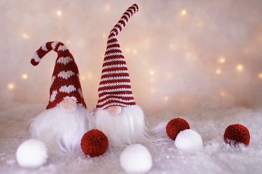 Elves, Gnomes, Christmas, Christmas Elves, Figure
