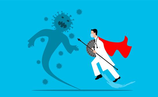 Doctor, Fighting, Virus, Corona, Coronavirus, Covid-19