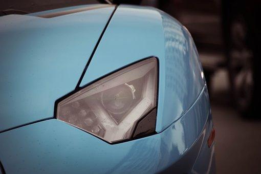 Lamborghini, Car, Headlamp, Sports Car, Luxury Car