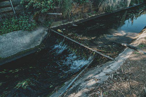 Channel, River, Stream, Water, Irrigation, Ditch