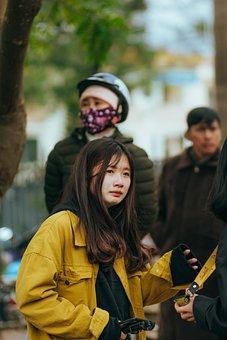 Sad, Vietnam, Girl, Women, Woman, Young, Model, Asia