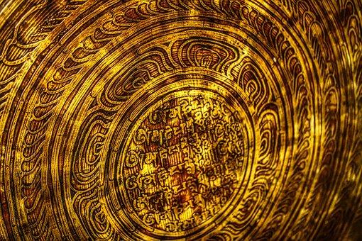Gong, Sound, Metal, Brass, Bronze, Tibet, Esoteric
