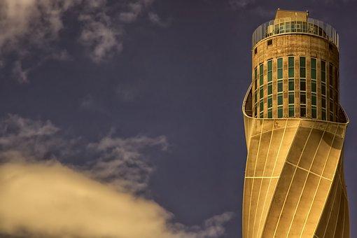 Tower, Building, Sky, Architecture, Landmark