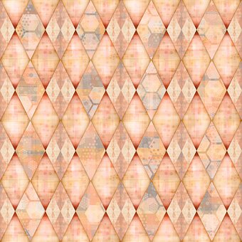 Rhombus, Rhomboid, Checkered, Mosaic, Polygon, Tile
