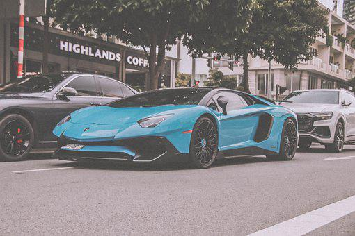 Lamborghini, Aventador, Road, Street, Luxury, Sv, Car