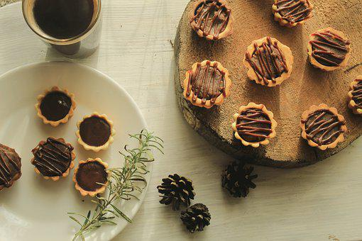 Tartlets, Desserts, Petit Fours, Small Pastries