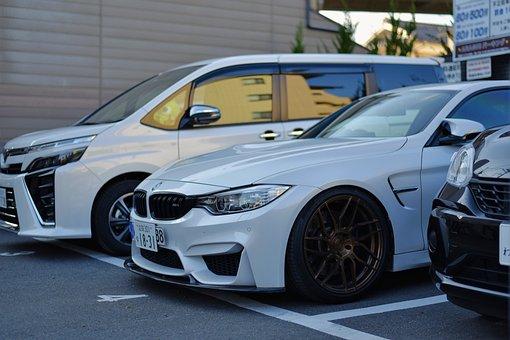 Cars, Vehicles, Parking Lot, Modern, Auto, Bmw