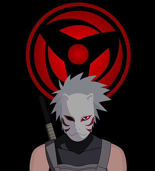 Naruto, Ninja, Mask, Character, Cartoon, Japan, Anime