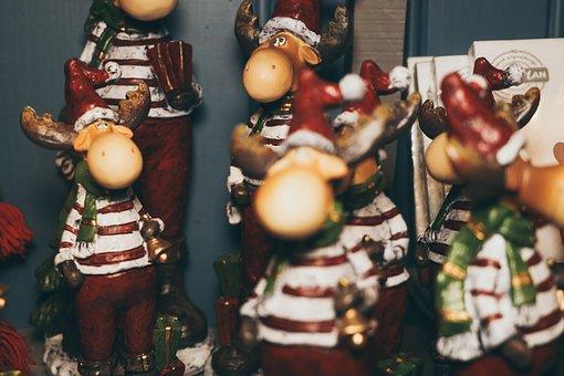 Reindeer, Christmas, Decoration, Xmas, Holiday