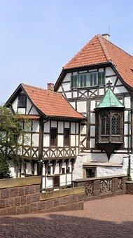 Fachwerkhaus, Buildings, Houses, Eisenach, Thuringia