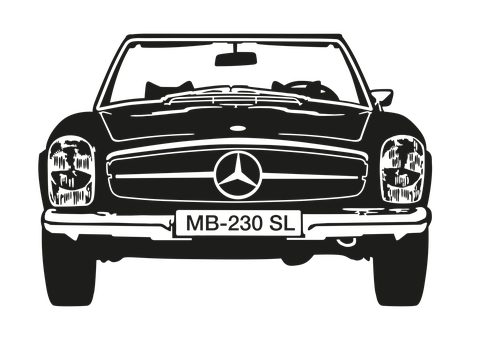 Mercedes Benz, Classic Car, Vehicle, Car, Auto