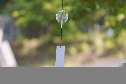 Furin, Wind Chime, Hanging, Japanese Wind Chime