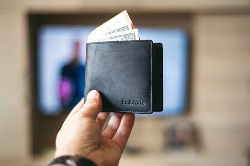 Wallet, Money, Hand, Leather Wallet, Banknotes, Cash