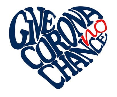 Give Corona No Chance, Button, Heart, Call
