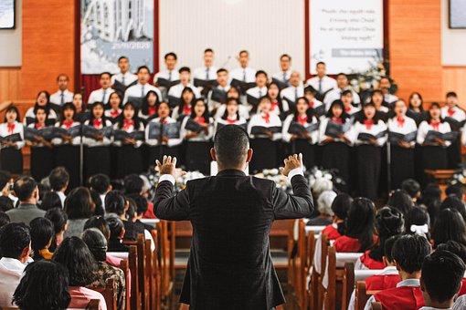Conductor, Choir, Chorale, Choir Master, Church