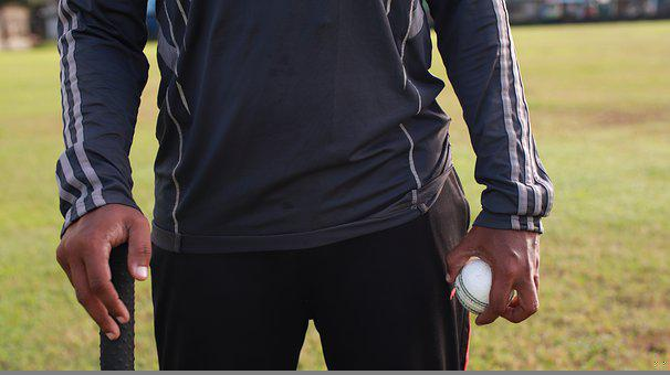 Person, Ball, Cricket, Sport, Jogging, Activity, Ground