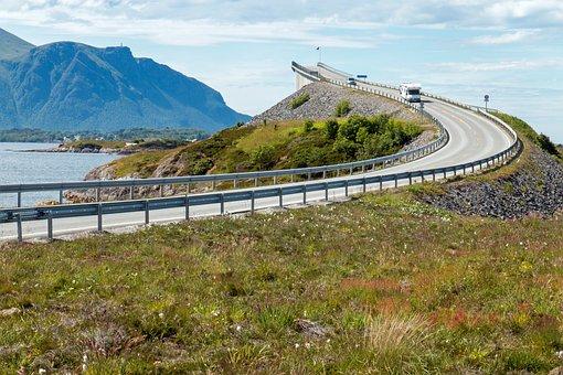 Road, Bridge, Islands, Bay, Roadway, Route