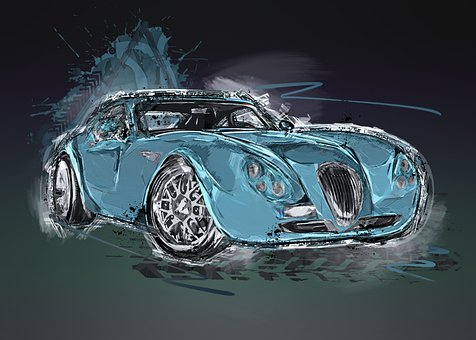 Wiesmann Gt Mf4, Car, Photo Art, Sports Car, Luxury Car
