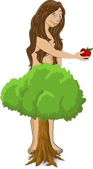 Eve, Apple, Sin, Temptation, Paradise, Bible, Fruit