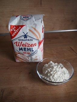 Flour, Wheat Flour, Ingredient, Baking Ingredients