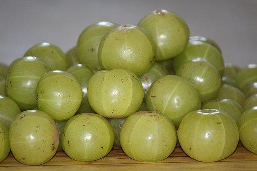 Amla, Indian Gooseberry, Fruit, India, Amalika