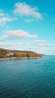 Beach, Ocean, Sand, Coast, Shore, Maconde Point