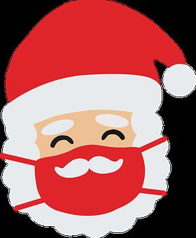Merry Christmas, Quarantine, Funny, Santa, Corona