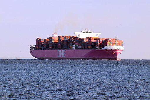 Ocean Network Express Minato, One, Cargo Ship
