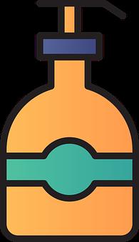 Shampoo, Dispenser, Icon, Pump Bottle, Spa, Soap