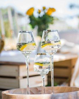 Wine Glass, Glasses, Picnic, Drink, Beverage