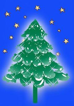 Christmas, Christmas Time, December, Christmas Tree