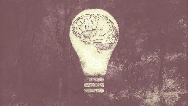 Light Bulb, Brain, Psyche, Emotion, Feelings, Ego