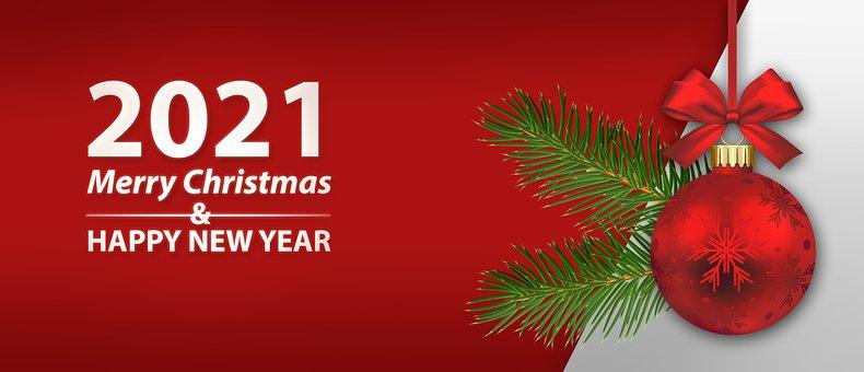Background, Banner, Christmas, Merry Christmas, Wish