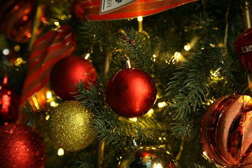 Holiday, Christmas, Xmas, Decoration, Celebration, Red