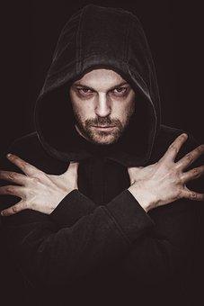Man, Vampire, Wizard, Evil, Mysterious, Mystery